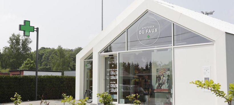 Werken in Merelbeke tot begin 2019: hoe bereik ik de apotheek?