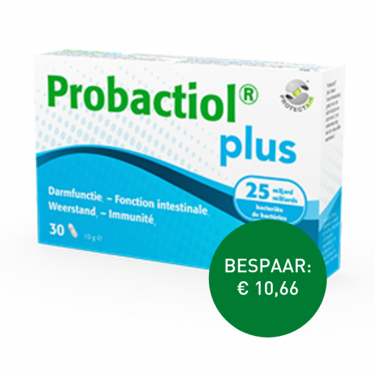 Apotheek Du Faux: PROBACTIOL PLUS 30 caps/ 60 caps
