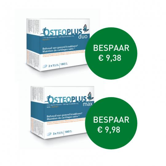 Apotheek Du Faux | Osteoplus Max 180 tabletten / Duo 180 tabletten