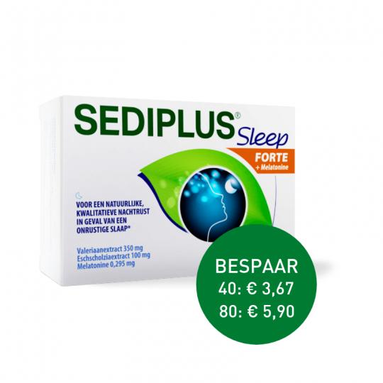 Apotheek Du Faux | Sediplus sleep forte 40 tabletten / 80 tabletten