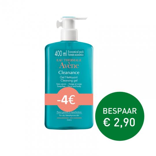 Apotheek Du Faux   Avène Cleanance reinigingsgel 400ml