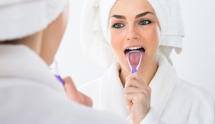 Stinkt u uit de mond? Ontdek onze 6 tips voor een frisse adem.