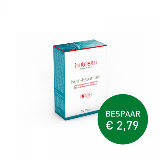 Apotheek Du Faux | Nutri Essentials 60 tabletten (voor