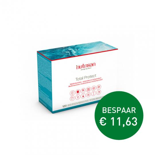 Apotheek Du Faux | Total Protect 120 capsules (voor >30 jaar)
