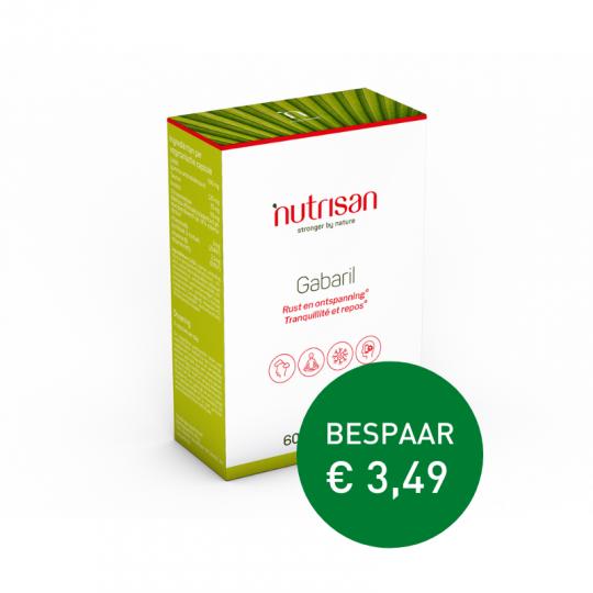 Nutrisan Gabaril 60 Vegetarische Capsules