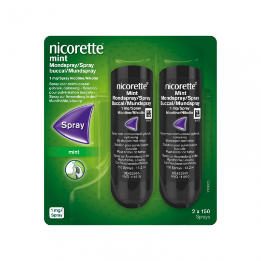 Nicorette duo spray