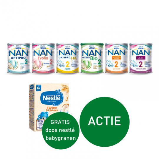 NAN opvolgmelk voor de allerkleinsten | Apotheek Du Faux