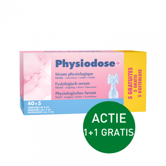 Physiodoses 40 * 5 ML + 5 GRATIS | Apotheek Du Faux