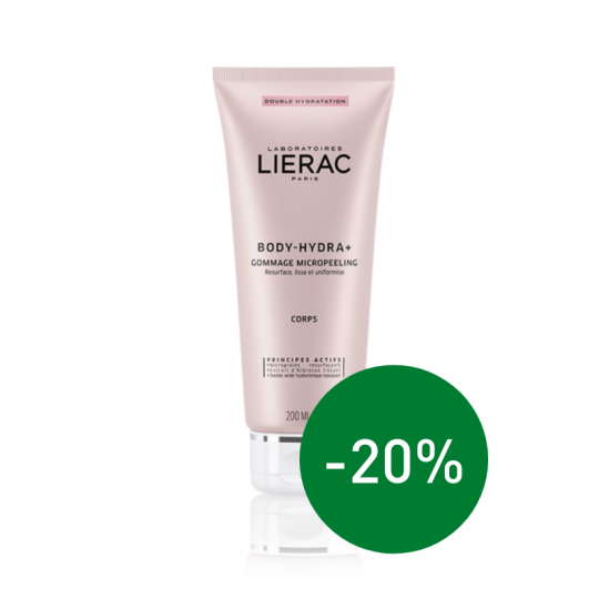 Lierac body hydra + micropeeling 200 ml | Apotheek Du Faux