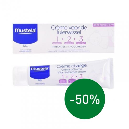 Mustela luierwissel cream 100 ml | Apotheek Du Faux