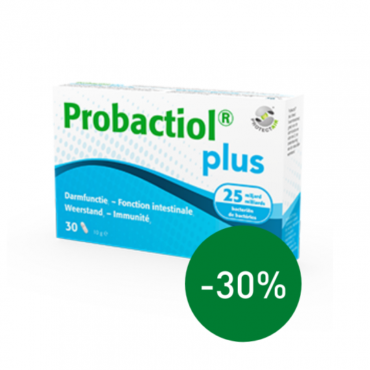 Probactiol Plus 30 caps | Apotheek Du Faux